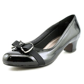 Beacon Marissa SS Round Toe Patent Leather Heels