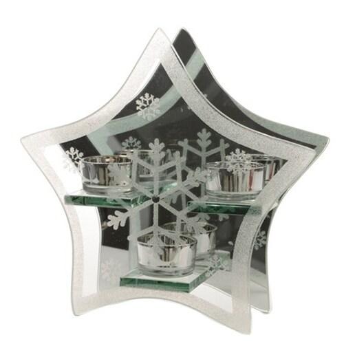 Snowflake Votive Star