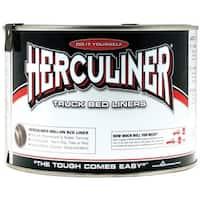 Herculiner HCLOB7 Truck Bed Liner Coating, 1 Quart, Black