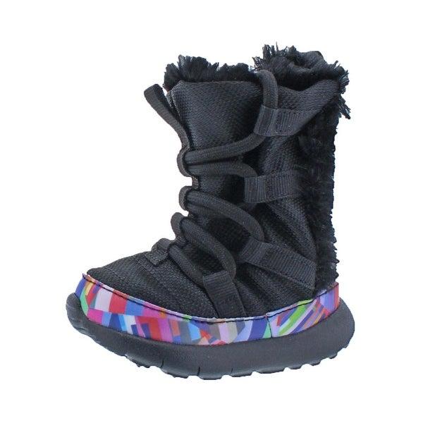 purchase cheap 43238 ae527 Shop Nike Roshe One Hi Print Boots Infant Hightop - 3 medium ...
