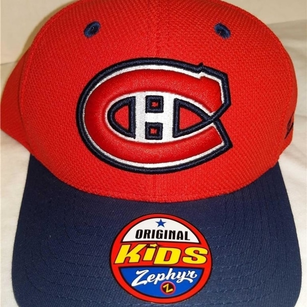 ae8c98cde2e45 Shop Montreal Canadians Youth Kids Size Osfa Red Blue Snapback Cap ...