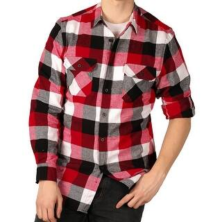 Straight Faded Men's Roll-Sleeve Flannel Shirt https://ak1.ostkcdn.com/images/products/is/images/direct/f92f0ae153d71f452b5912ae960ff8b5f31474df/Straight-Faded-Men%27s-Roll-Sleeve-Flannel-Shirt.jpg?impolicy=medium