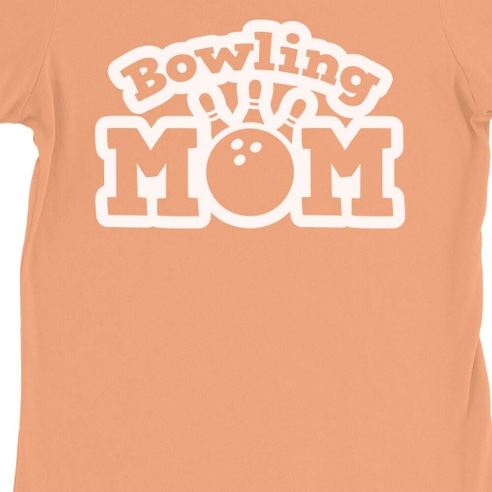 Shop Bowling Mom Womens Peach T Shirt Funny Sports Mom Shirt Gift Ideas Overstock 27657402
