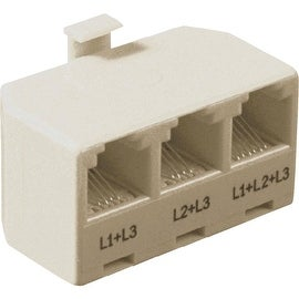 RCA 3-Line Alm Phone Adapter