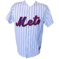 New York Mets Majestic Replica White Jersey Size Medium