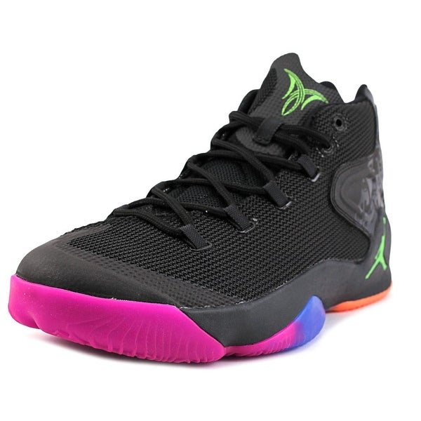 Jordan Melo M12 Men Round Toe Synthetic Black Basketball Shoe