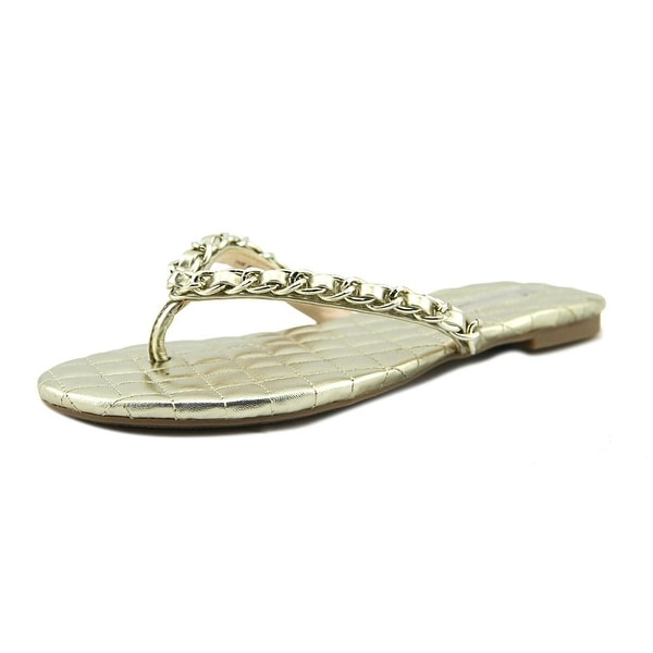 INC International Concepts Maceo Women Platino Sandals