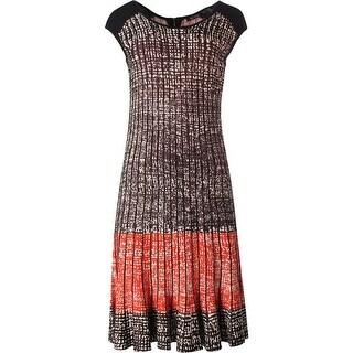 Nic + Zoe Womens Modal Blend Pattern Casual Dress