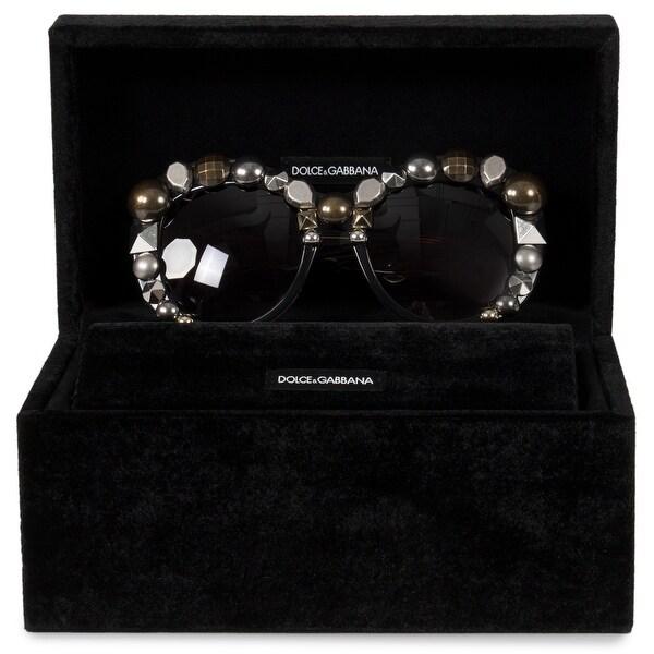 430f5b604de4 Shop Dolce   Gabbana Butterfly Sunglasses DG4266 29168G 55 ...