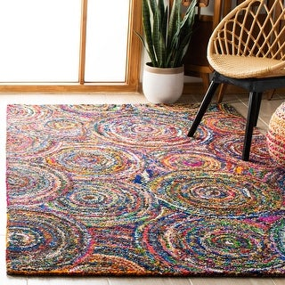 Safavieh Handmade Nantucket Midori Contemporary Cotton Rug
