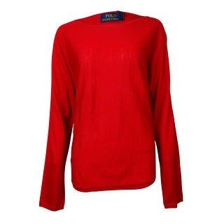 Polo Ralph Lauren Women's Merino Wool Dolman Sweater