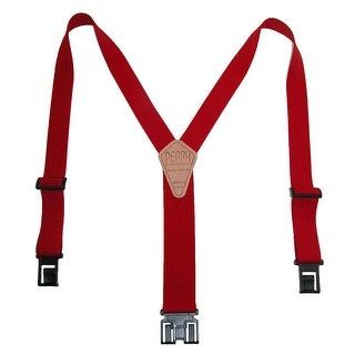 Perry Suspenders Men's Tall Elastic Hook End Suspenders