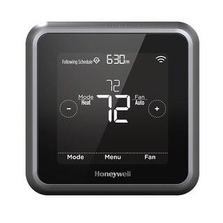 Honeywell RCHT8610WF2006/W Lyric T5 Wi-Fi Smart Thermostat, Black