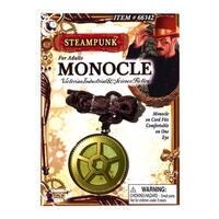 Steampunk Monocle Costume Eyewear Accessory - Gold