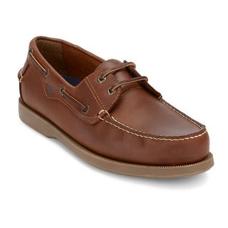 Dockers Mens Castaway Leather Casual Classic Boat Shoe