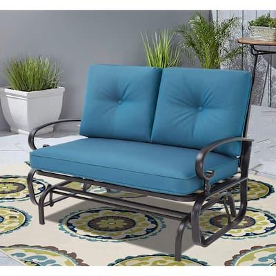 Nista Outdoor Loveseat Glider Chair by Havenside Home