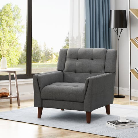 Candace Mid-century Modern Armchair by Christopher Knight Home