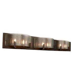 Alternating Current AC1196 Firefly Industrial Bronze 6 Light Bathroom Vanity