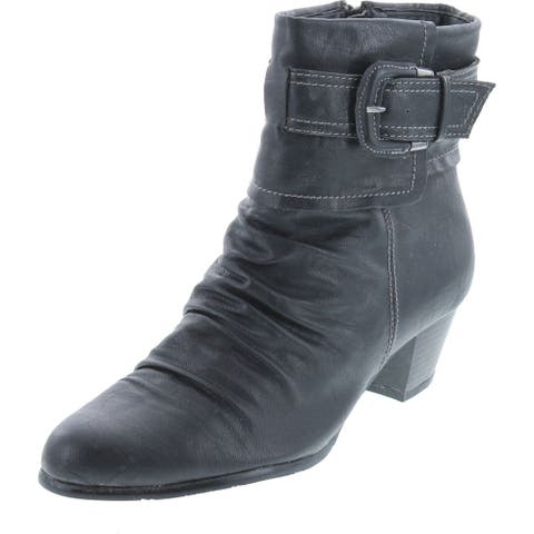 Spring Step Womens Aero Ankle Boots - Black.