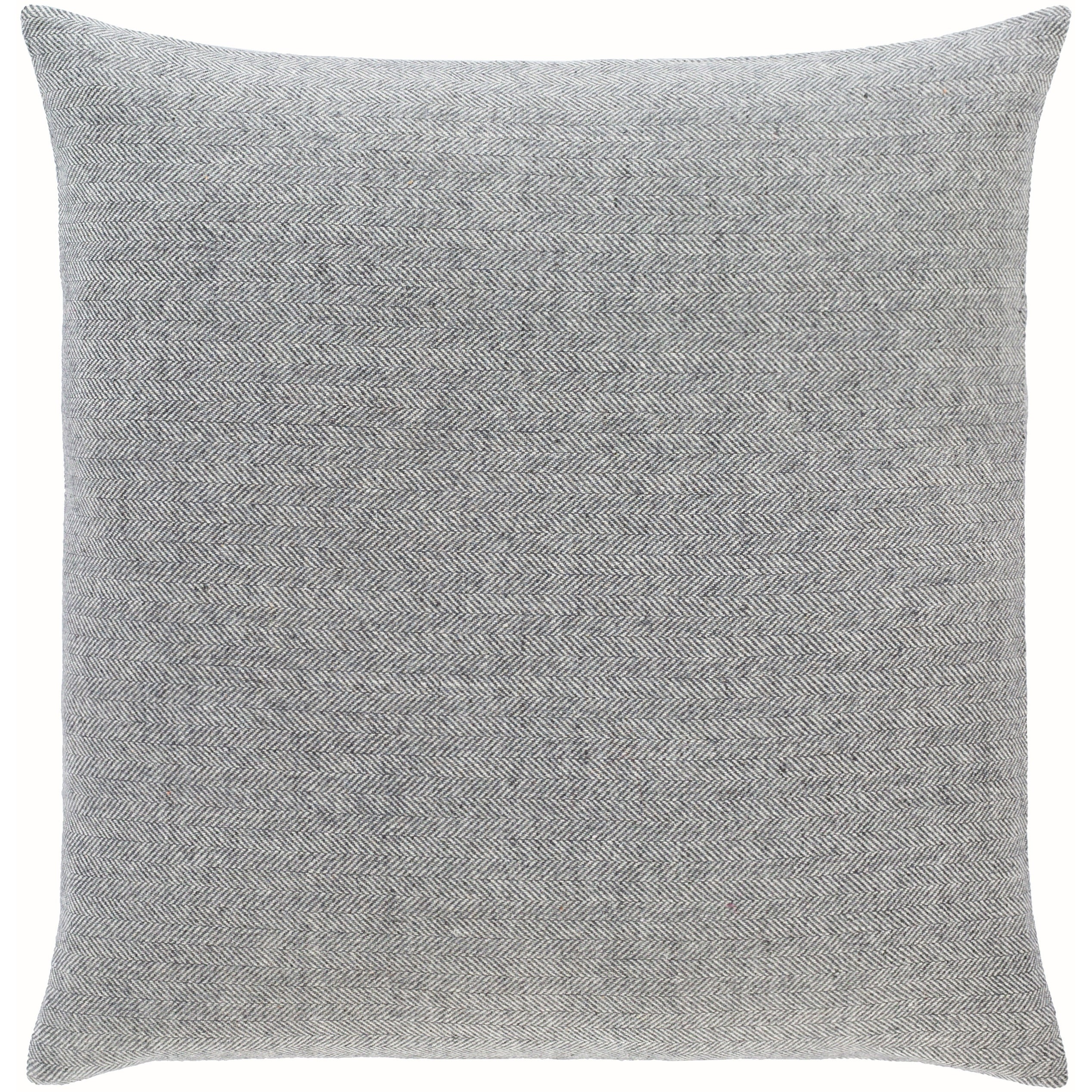 Breman Houndstooth Wool Blend Throw Pillow Overstock 31488267