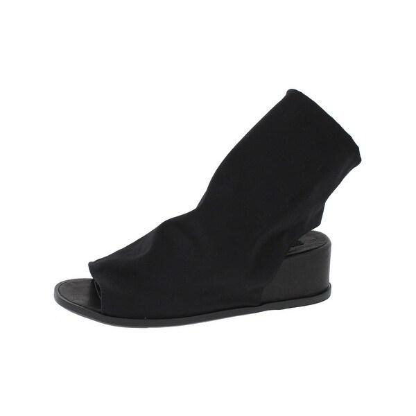 Steven By Steve Madden Womens Lavin Wedge Sandals Open Toe Ankle Cuff