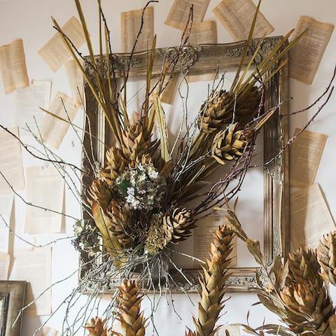 RusticReach Renaissance Autumn Artificial Dried Flower and Plants