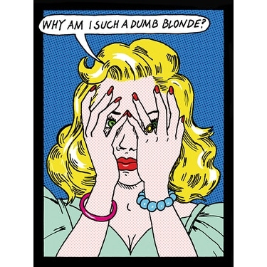 Shop Why Am I Such A Dumb Blonde By Tee Buzz Kunst