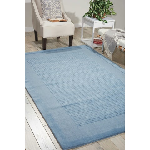 Nourison Hand-tufted Westport Solid Wool Area Rug