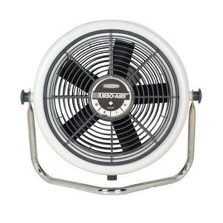 "Seabreeze 3200-OM Aerodynamic High Velocity Cooling Fan, 12"", 3 Speed, Gray"