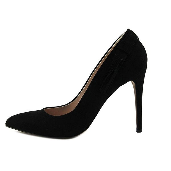 Nine West Womens Ginny Fabric Closed Toe Classic Pumps