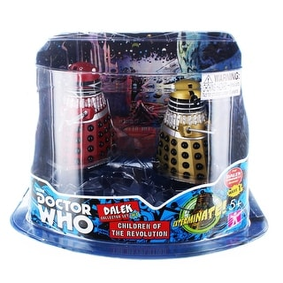 """Doctor Who 3.75"""" Action Figure Set #1: ''Children of the Revolution''"""
