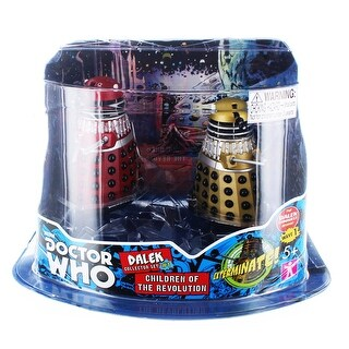 "Doctor Who 3.75"" Action Figure Set #1: ''Children of the Revolution'' - multi"