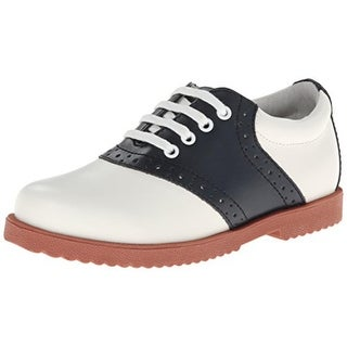 Academie Gear Girls Honor Roll Oxfords Brogue Leather