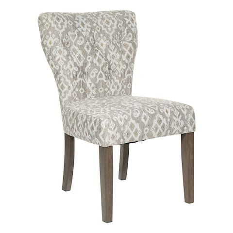 Andrew Dining Chair with Grey Brushed Legs