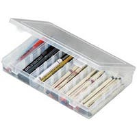 "10.75""X7.375""X1.75"" Translucent - Artbin Solutions Box 6-12 Compartments"