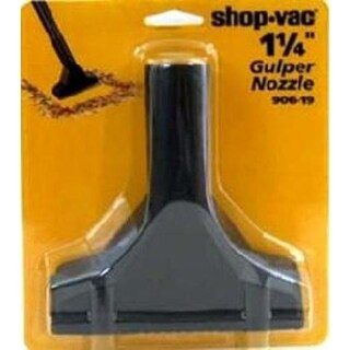 "Shop-Vac 9061900 Wet/Dry Vac Gulper Nozzle, 1.25"", Black"