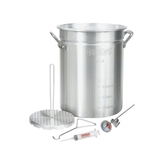 Barbour Intl. 30Qt Turkey Fryer Pot