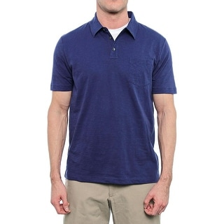 Perry Ellis Short Sleeve Collared Polo Men Regular Polo Shirt