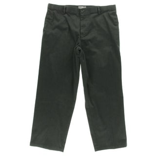 Dockers Mens Relaxed Fit Flat Front Khaki Pants