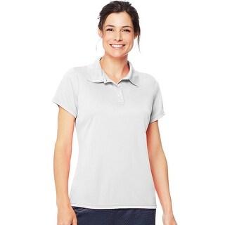 Hanes Cool DRI® Women's Polo - Size - 3XL - Color - White