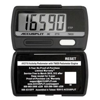 Accusplit AX2710 Ultra Thin Pedometer