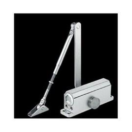 Aluminum Alloy Hydraulic Door Closer Size 2 25-45KG Commercial Wooden/Metal Door