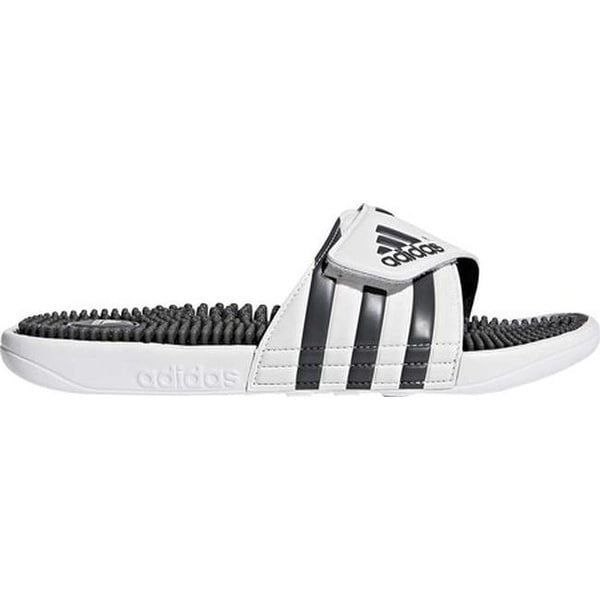 b62f02ab8e09 Shop adidas adissage Running White Graphite Running White - Free ...