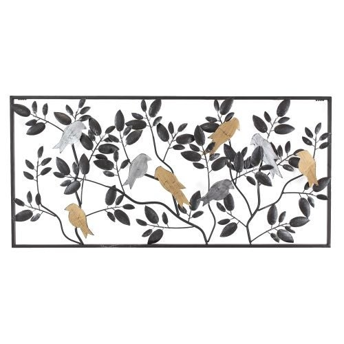 Aspire Home Accents 5928 Harmony Metal Bird Wall Decor