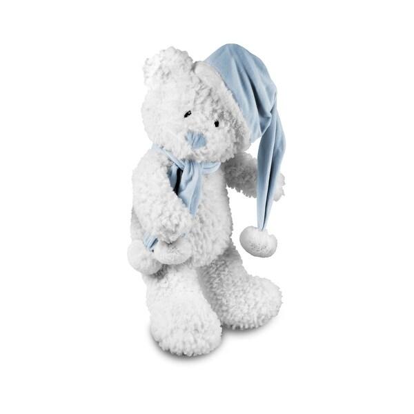 Beverly Hills Teddy Bear Company Winter Baby Bear Blue