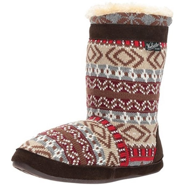 Woolrich Womens Whitecap Knit Boot , Kendall Creek, 8