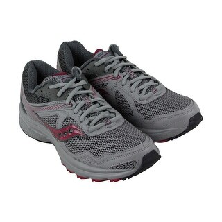 Saucony Grid Cohesion Tr 10 Womens Gray Synthetic & Mesh Athletic Running Shoes (More options available)