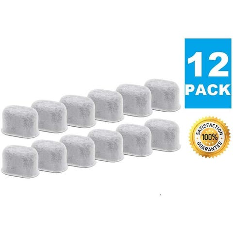 Premium Replacement Charcoal Water Filters for All Keurig Makers & Machines, Replaces Activated Carbon Filter, 1.0 2.0 - 12 Pack
