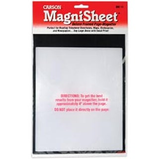 """Magnisheet Deluxe Framed Page Magnifier-10-3/4""""X8-1/4"""""""