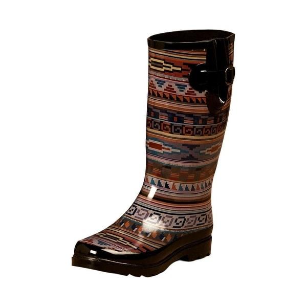 Blazin Roxx Outdoor Boots Womens Perry Waterproof Round Multi